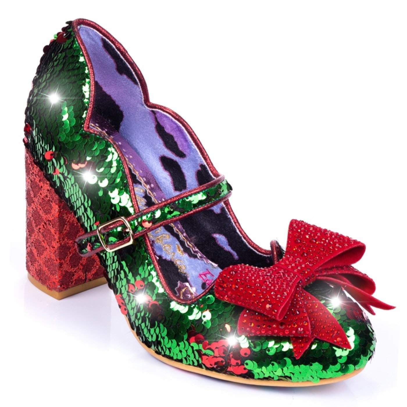 Danity Green-Red