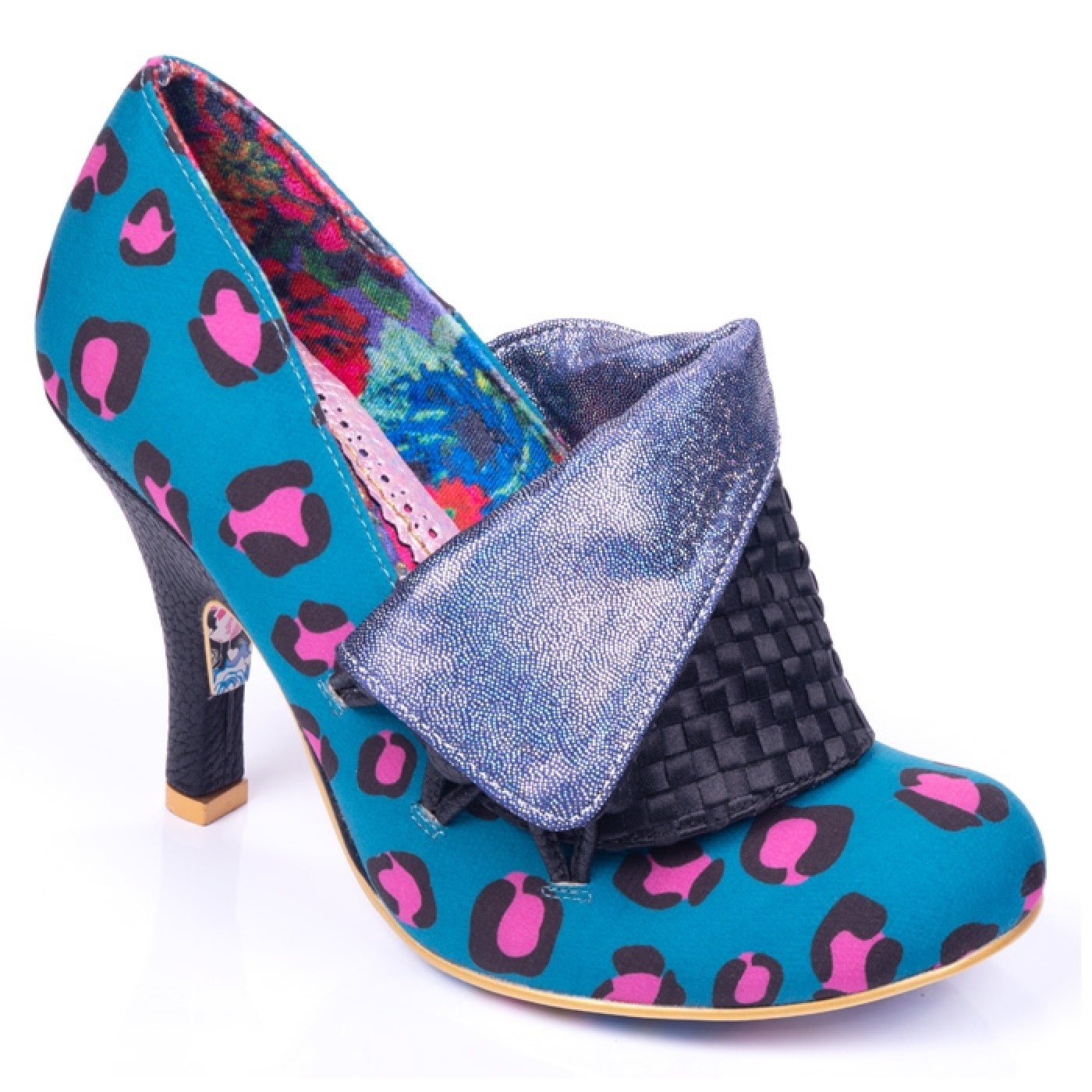 Flick Flack (teal and pink leopard)
